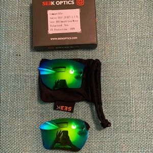 Replacement lenses for half jacket 2.0 xl